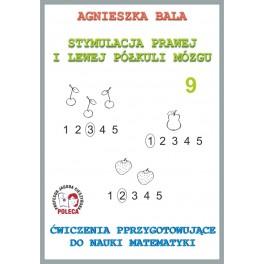 Zeszyt ćwiczeń 9 - Ćwiczenia przygotowujące do nauki matematyki