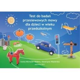 Test do badań przesiewowych mowy dla dzieci w wieku...
