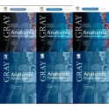ANATOMIA GRAY TOM 1-3+PYTANIA TESTOWE KOMPLET