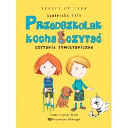 Przedszkolak kocha czytać Czytanie symultaniczne Zeszyt ćwiczeń