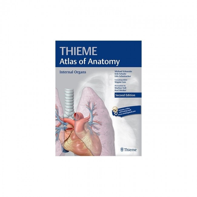 PROMETHEUS 2ND EDITION VOL.II - THIEME ATLAS OF ANATOMY, INTERNAL ...