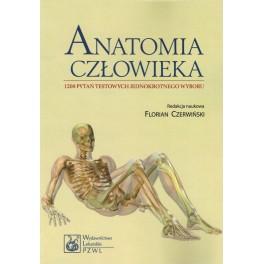 Anatomia człowieka - 1200 pytań testowych jednokrotnego wyboru
